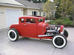 31 model A coupe highboy hot rod