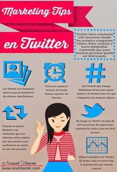 Marketing Tips en Twitter #infografia #infographic #Twitter  #MarketingTips