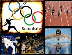 2012 London Olympics Schedules
