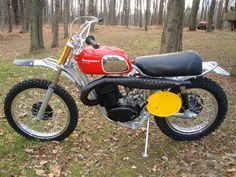 1970 Husqvarna 400 Cross- The bike that killed the 4-stroke dinosaurs of the 60's and opened the door on the new breed of dirt bikes- light weight, powerful 2-strokes.