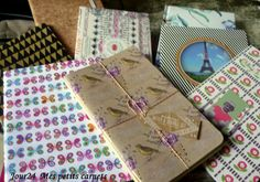 24.02.2016 / Carnets, ma collection du moment Moment, Flow, Notebook, Gift Wrapping, Gifts, Collection, Notebooks, Gift Wrapping Paper, Presents