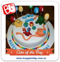 Mr Men Birthday Cake  For kids party ideas in Perth, WA see the Buggybuddys website. http://www.buggybuddys.com.au/kids_party_perth.html