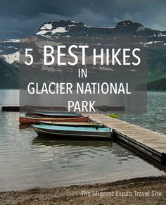 Some of the best mountain hiking in the world is to be found in Glacier National…