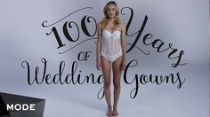 """Say """"I Do"""" to our blushing bride, 100 times over. We're back with another century of chic wears, and this time, we'll be walking down the aisle. Tune in for 100 years of wedding dresses and..."""