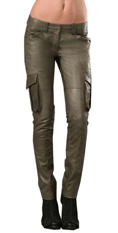 Leather Trooper Cargo Pants - 11 Colors [Trooper Cargo] - $130.00 : Makeyourownjeans.com, Custom Jeans | Designer Jeans