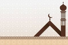 Islamic background with modern mosque silhouette. Blurred Background, Background Pictures, Art Background, Larva Cartoon, Mosque Silhouette, Wedding Invitation Background, Bedroom Wall Designs, Motion Backgrounds, Cool Anime Girl
