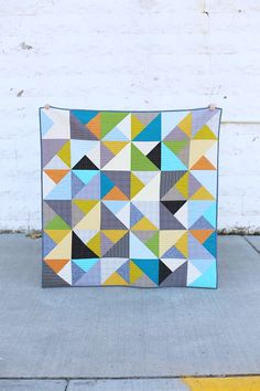 Baby quilt by noodlehead