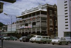 1966 - Buchanan's Hotel in Sturt Street, after the visit by USA's president L. Presidents, Photographs, Street View, Australia, History, Places, Historia, Photos, Lugares