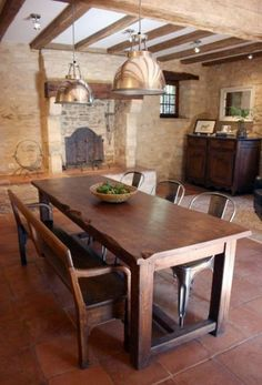 Dining In A Country Style With Chairs For Dining Room