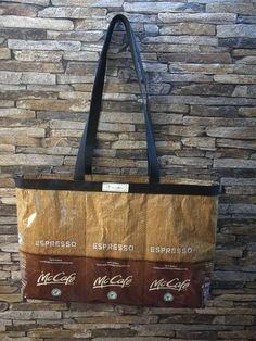 McCafe Kaffeetasche von kavaWerkstatt auf Etsy Espresso, Etsy, Carry Bag, Coffee, Tutorials, Espresso Drinks