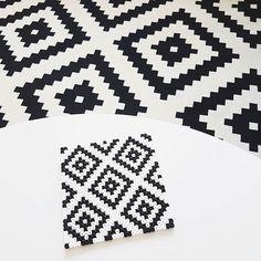 Coaster hama beads by linnnbe