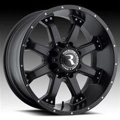 Raceline Wheels Assault Black Wheels 991B7906000  Wheel, Assault, Aluminum, Gloss Black, 17 in. x 9.0 in., 6 x 5.50 in. Bolt Circle, 5.00 in. Backspace, Each