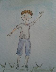Character development children's book illustration