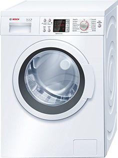 Bosch WAQ28422 Serie 6 Waschmaschine FL / A+++ / 139 kWh/Jahr / 1400 UpM / 7 kg / Wei� / 9240 L/Jahr / 3D-AquaSpar-System