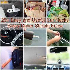 25+ Easy and Useful Car Hacks Every Driver Should Know #tips #CarHacks
