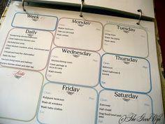 Printables- Home Management binder