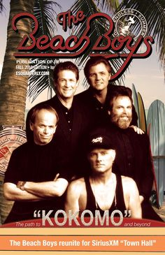Endless Summer Quarterly – The Beach Boys Publication of Record Carl Wilson, Brian Wilson, Kokomo Beach, Bruce Johnston, David Marks, Mike Love, John Stamos, The Beach Boys, Music Radio