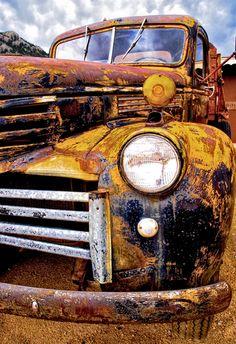 Old Rusty Truck. Source plus.google.com