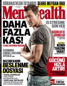 Men's Health 2013 Aralık sayısı.