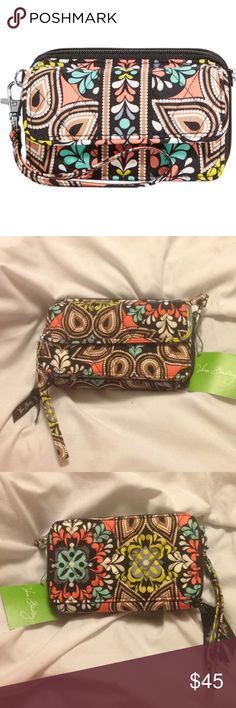 HP 9/8 All in One Crossbody for iPhone 6 ✨condition:  brand new w/ tags ✨worn?: no ✨brand: Vera Bradley  ✨print: sierra ✨style: 3 in 1 - crossbody/wristlet/wallet ✨comes with detachable, adjustable crossbody strap ✨front magnet close   zip coin pocket   zip compartment w/ large bill pocket   8 cc slots   clear ID slot   - SOLD OUT EVERYWHERE - Vera Bradley Bags Crossbody Bags