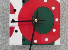 Reclaimed Ceramic subway tile Clocks by Coastrangewoodworks, $15.00