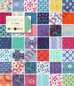 Or this collection. Dang it.  CUZCO by Kate Spain  Moda Fabric Charm Pack  Five by charmpacks, $8.50