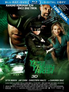 Yesil Yaban Arisi - The Green Hornet - 2011 - 720p - Dual - Turkce Dublaj Bluray 720p Cover Movie Poster Film Afisleri - http://720pindir.com/Yesil-Yaban-Arisi-the-Green-Hornet-2011-720p-Dual-Turkce-Dublaj-indir-9581