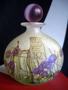 Isle OF Wight Studio Amethyst Rose Gold Azurene Petunia Perfume Bottle Label | eBay
