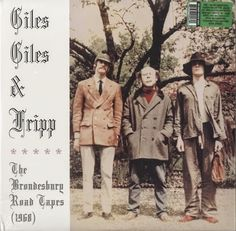 That was yesterday: Giles, Giles & Fripp - The Brondesbury Tapes (1968...
