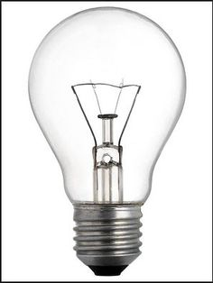 Lightbulb research and potential template for graphic