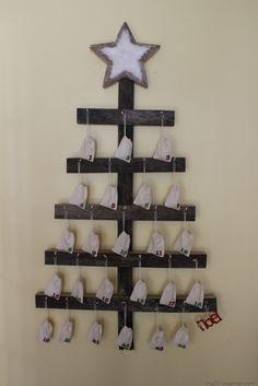 Wall Mounted Advent Calendar Tutorial