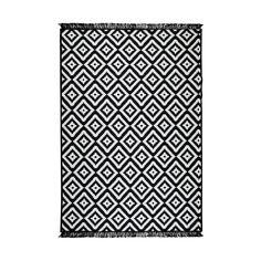 Helen fekete-fehér kétoldalas szőnyeg, 120 x 180 cm | Bonami Textiles, Neon, Rugs, Stuff To Buy, Home Decor, Products, Poland, Farmhouse Rugs, Decoration Home