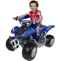 Free Shipping. Buy Yamaha Raptor ATV 12-Volt Battery-Powered Ride-On at Walmart.com
