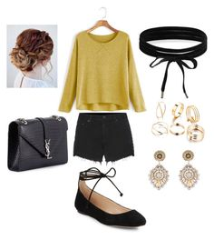"""""""3d"""" by bama02614 on Polyvore featuring rag & bone, Karl Lagerfeld, Yves Saint Laurent, Boohoo and Miguel Ases"""