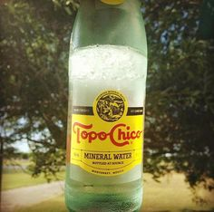 When you have a 1/2 of ice floating in your bottle of #Topo.