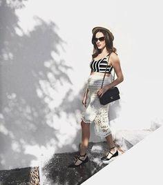 A grávida mais estilosa do ano @paulinhasampaio curtiu o dia de hoje toda #estilotova. ⚡️ #ootd #verao16