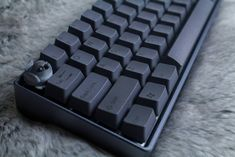 Carbon Black PBT keycaps