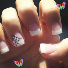 39+ Facts, Fiction And Acrylic French Tip Nails With Glitter Sparkle 2  #Acrylic #Facts #Fiction #French #glitter #Nails #Sparkle #tip French Nails<br> French Nails, French Tip Acrylics, French Tip Nail Designs, Simple Nail Designs, Prom Nails, Fun Nails, Glitter Nails, Wedding Nails, Pretty Nails