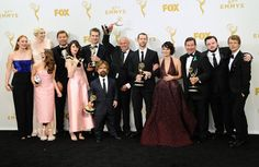 Pin for Later: The Game of Thrones Cast Goofs Off on Their Big Emmys Night The Game of Thrones Cast and Crew