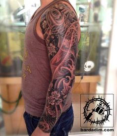 Nice Fish Koi Tattoos Images with Meaning (19)