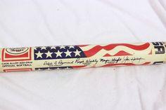 "TPS Louisville Slugger Team USA Fastpitch Softball Flag Bat Fernandez 33"" 24 oz  #LouisvilleSlugger"