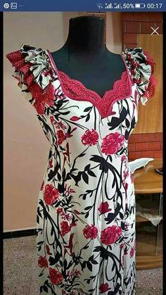 Abaya Mode, Simple Dresses, Summer Dresses, Kurta Neck Design, High Fashion, Womens Fashion, Abaya Fashion, African Fashion Dresses, Pajamas Women