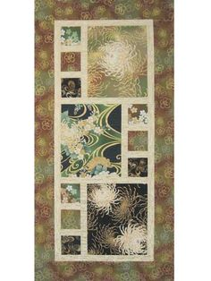 Divided by 3 Table Runner Pattern - good for showcasing favorite larger print fabric pieces