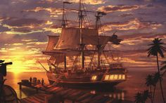 Pirates Are Close - HD Wallpapers Widescreen - 1280x800