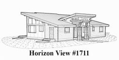Horizon View Floor Plans - Pan Abode Cedar Homes