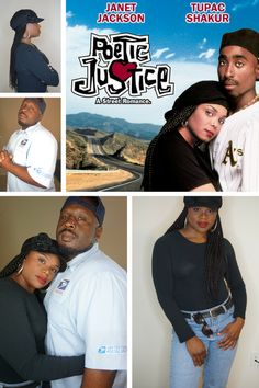 This video is a Couples Halloween Costume DIY Tutorial for the characters Justice and Lucky played by Janet Jackson and Tupac in the movie Poetic Justice. Enjoy!