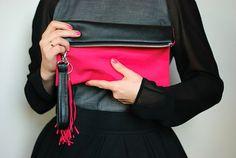 black clutch with tassel - Google Search