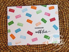 Handmade with love card made with the Foundations Box. http://shop.catherinepooler.com/products/foundations-box #catherinepooler #foundationsbox