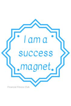 """Business success affirmation """"I am a success magnet"""" - see the affirmation every day printed on a mug and use the Law of Attraction to manifest the business you deserve. Shipped from the UK - international shipping available Career Affirmations, Wealth Affirmations, Law Of Attraction Affirmations, Positive Affirmations, Positive Quotes, Secret Law Of Attraction, Law Of Attraction Quotes, Buzzfeed, Success"""