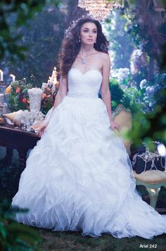 The 2014 Ariel Disney Fairytale Princess gown. Alfred Angelo
